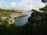 Schmale Bucht bei Cala Pì