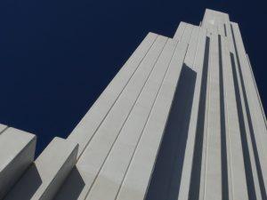 Leuchtturm in Punta del Hidalgo, erbaut 1992
