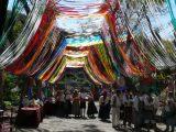 San-Marcos-Volksfest beim Drachenbaum