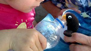 Vom Spielen bekommt man großen Durst
