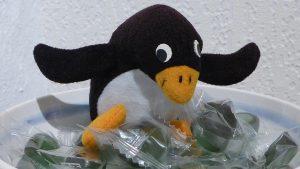Pingu-Ole allein zu Haus'